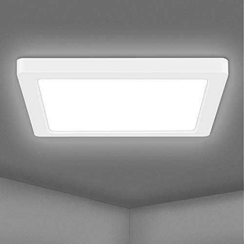 AVANLO LED Deckenleuchte 2300lm Deckenlampe LED Küchenlampe 24w Ø29cm, Wohnzimmerlampe Badezimmer Lampe, Deckenlampe für Büro, Dünn 1.5cm, 4000k