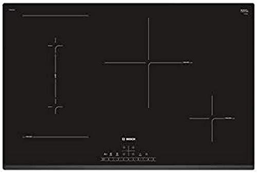 BOSCH Plan de cuisson PVS831FB5E à induction 4 zones de cuisson de 80 cm Noir