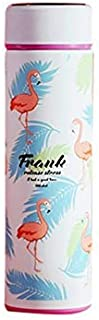 17 Oz Double Wall Vacuum Insulated Stainless Steel Water Bottle Flamingo Whale Fawn Bottle BPA Free Leak Proof No Sweating...