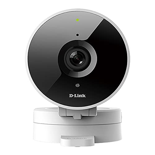 D-Link HD WiFi Indoor Security Camera, Cloud Recording, Motion Detection & Night Vision, Amazon Alexa (Echo Show/Echo…