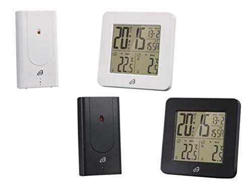 Auriol Temperatur Station Funkgesteuertes Sensor für Außen- Temperatur - Schwarz