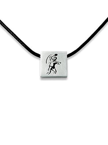 C2 Sportschmuck Halskette Tischtennis E-12