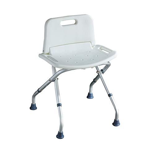 Yuany toiletstoel, inklapbaar lichtgewicht hoogte verstelbare douchestoel van toepassing op ouderen, zwangere vrouwen, gehandicapte stoel