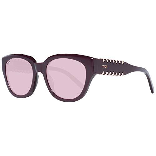 TOD'S TO0222 5283Z Tods Sonnenbrille TO0222 83Z Schmetterling Sonnenbrille 52, Violett
