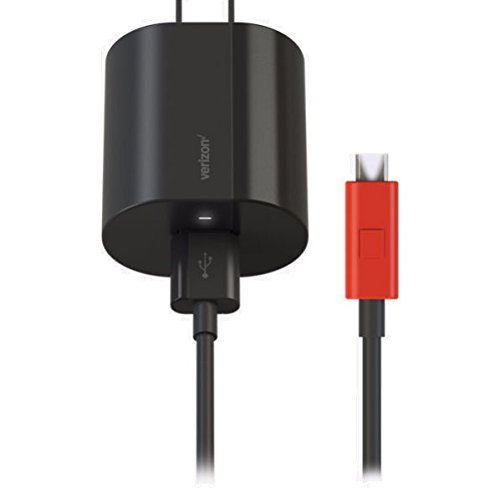 Verizon Micro USB Wall Charger with 3 Amp Fast Charge Technology & LED...