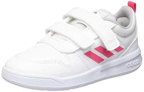 adidas Tensaur, Road Running Shoe Unisex bebé, Cloud White/Real Pink/Cloud White, 26 EU