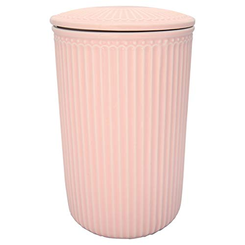 GreenGate - Aufbewahrungsdose - Alice - Pale Pink - Large - 13,5 x 21 cm
