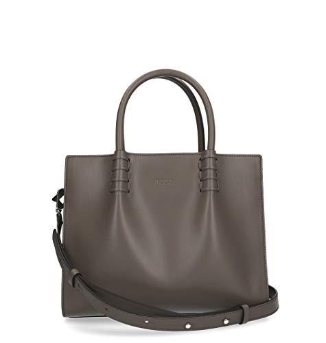 Tod's Luxury Fashion Damen XBWLDMU0100PUPB413 Braun Handtaschen | Jahreszeit Permanent