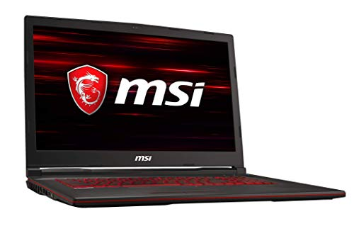 MSI GL73 8RCS-011DE (43,9 cm/17,3 Zoll) Gaming-Laptop (Intel Core i5-8300H, 8 GB RAM, 256 GB PCIe SSD + 1TB HDD, Nvidia GeForce GTX 1050 4 GB, Windows 10 Home)