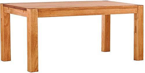 Brasilmöbel Esstisch Rio Kanto 150x73 cm Honig Pinie Massivholz Größe und Farbe wählbar Esszimmertisch Küchentisch Holztisch Echtholz vorgerichtet für Ansteckplatten Tisch ausziehbar