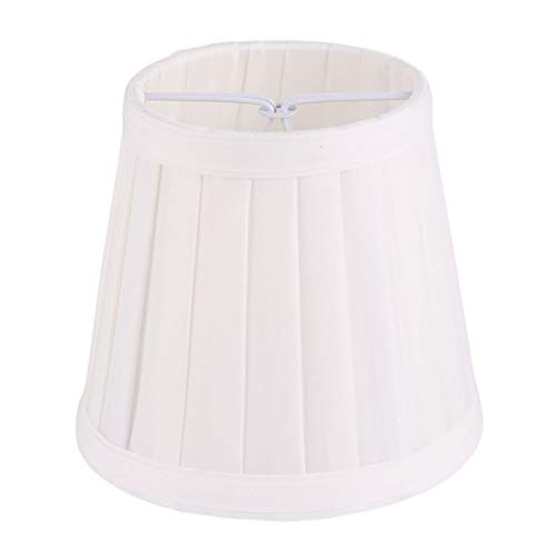 SOLUSTRE Pantalla de tela para lámpara de mesa, lámpara de pared, lámpara de pie, salón, dormitorio, decoración