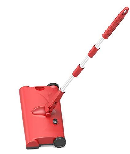Huishoudelijke Twee-In-Één Draadloze Elektrische Hand-Push Vegen Dweilen Machine Opladen Dual-Alleszuigers,Red