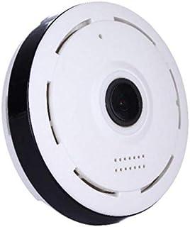 360-Degree Panoramic View Security Camera/wifi/msdcard/nodvr/mic/speaker/night vision
