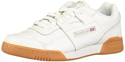 Reebok Workout Plus, Scarpe da Fitness Uomo, Bianco (White/Carbon/Classic Red Royal/GU 000), 43 EU