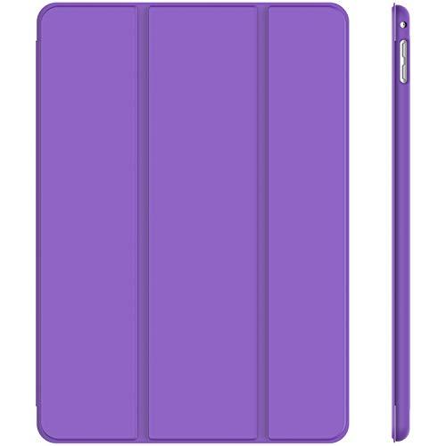 JETech Hülle Kompatibel Apple iPad Mini 4, Schutzhülle mit Ständer Funktion & Auto Schlafen/Wachen, Lila