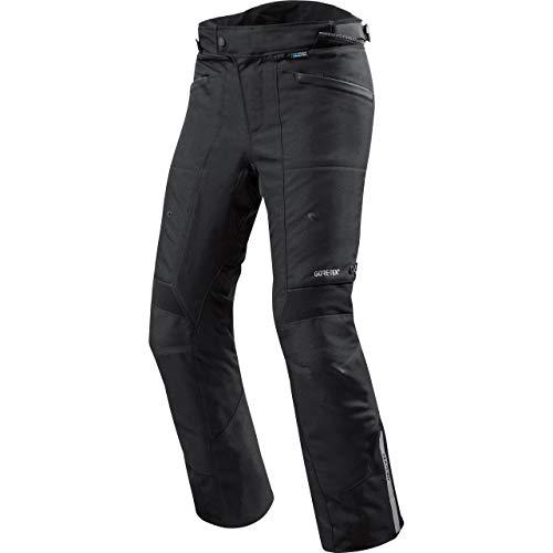 REV'IT! Pantalones de Motocicleta Neptune 2 GTX Textilhose Schwarz XL (Kurz), Caballeros, Tourer, Todo el año, Negro Mate