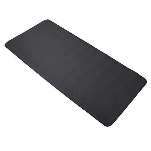 Belleashy Yoga Mat180x75cm Ejercicio Esterillas Yoga Gimnasio Equipo Pad para Cinta de correr Proteger Piso Pilates y Ejercicios de Piso