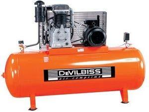 Devilbiss - Puissant compresseur d'air, 500L 10CV