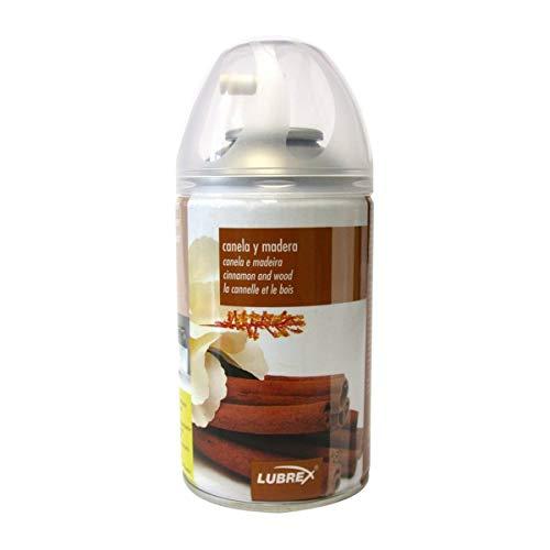 H HANSEL HOME Recambios de ambientador Spray automático Canela y Madera, Aerosol Universal para difusor automático y Uso Manual (1 PC)