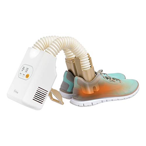IRIS USA SDR-C1 Compact Shoe and Boot Dryer, Gold
