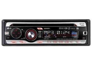 LG LAD 4700 R DVD-MP3-Tuner (DivX-Zertifiziert, MP3, Front Aux-In) schwarz/Silber