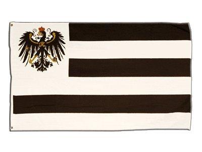 Flaggenfritze Fahne/Flagge Hohenzollern + gratis Sticker