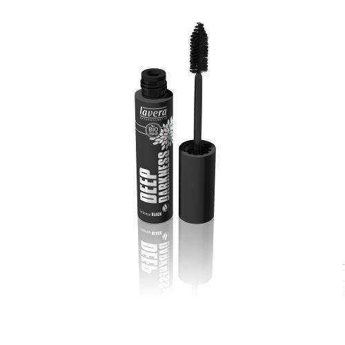 Lavera Deep Darkness Mascara Intense Black, 1er Pack (1 x 13 ml)