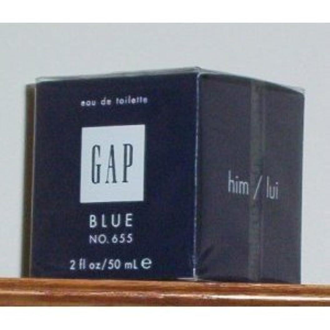 きょうだいギャングスター味方Gap Blue No. 655 (ギャップブルーNo. 655 ) for Him 2.0 oz (50ml) EDT Spray by Gap for Men