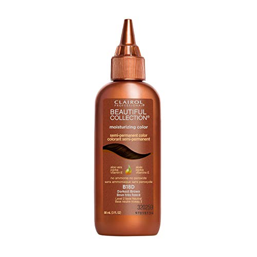 Clairol Professional Beautiful Collection, 18d Darkest Brown, 3 oz.