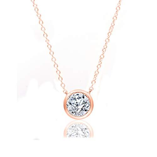 TJD Brilliant Diamond Necklace