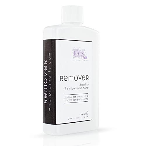 Remover Smalto Semipermanente Acetone Puro 100 ml...