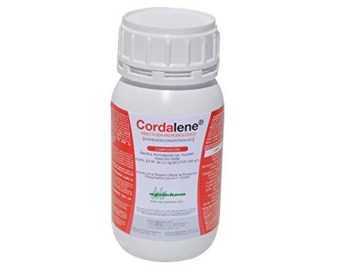 CULTIVERS Bacillus Thuringiensis kurstaki 24 wg de 250 ml. Insecticida Biológico contra Orugas. Ideal para Todo Tipo de Verduras y Hortalizas. Tratamiento Ecológico