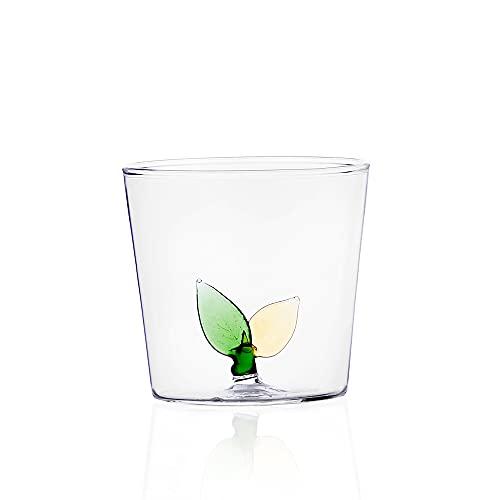 Ichendorf Milano Greenwood Tumbler Foglie, Glass