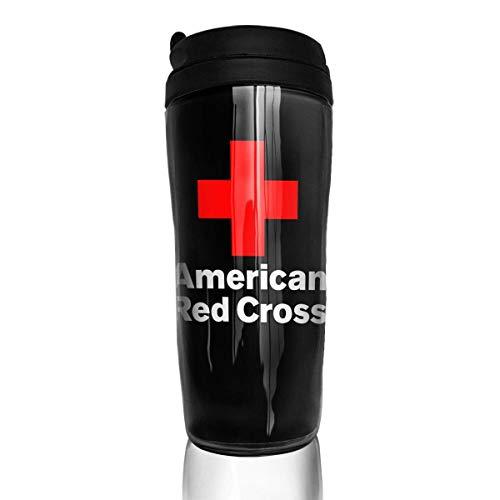 Qurbet Wasserflasche, amerikanisches rotes Kreuz, Eis-Espresso-Tasse für Kinder, Teenager, Erwachsene