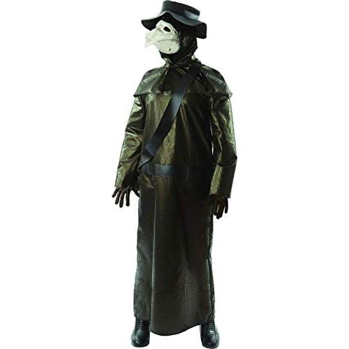 ORION COSTUMES Costume da uomo travestimento Halloween da medico della pesta medievale