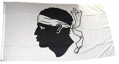 Fahne / Flagge Frankreich - Korsika NEU 90 x 150 cm