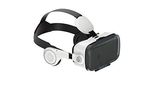 NK - Gafas con Visor Adaptador 3D VR para Smartphone, con Auriculares (Reacondicionado Certificado)
