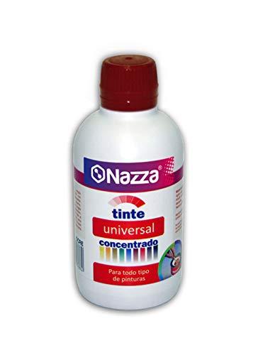 Tintes Universales Concentrados para Pinturas de todo tipo | Muy recomendado también para Resinas y barnices al Agua | Color Rojo Óxido | Formato de 250 ml