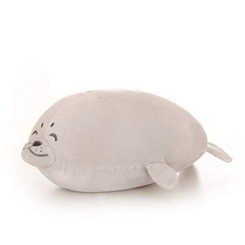 IPOLK Sea Lion Plush Doll Soft Pillow Cute Animal Stuffed Toy Gift Cushion Grey 4