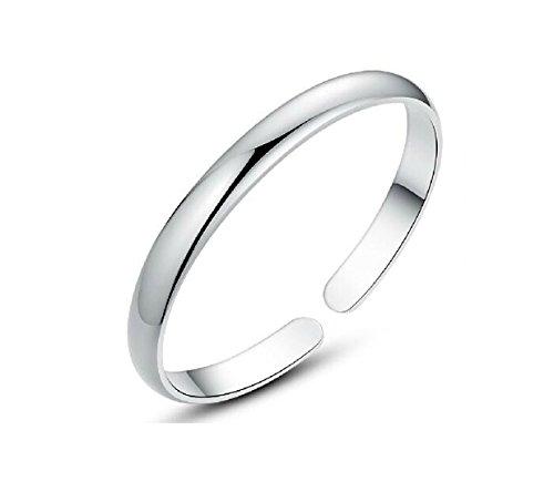 NYE NEIL JEWELRY 925 Sterlingsilber Armband Armreif Manschette Silber Poliert Herren,Damen