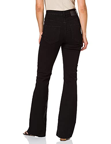 PIECES Female Flared Jeans High Waist SBlack