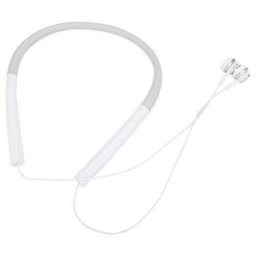 Limouyin Imán Incorporado Bluetooth 5.0 Auriculares inalámbricos con Banda para el Cuello Auriculares retráctiles Auriculares estéreo Auriculares con cancelación de Ruido con Chips de bajo Consumo