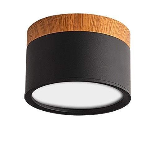Bwldma Europäischer stil7w 12w 15w eingebettete Oberflächenmontage LED-Strahler Gewerbliche Panel Lampe Ultra Helle Zylinder Deckenleuchten Downlight Aluminium Bekleidungsgeschäft Mall Dekoration Bele