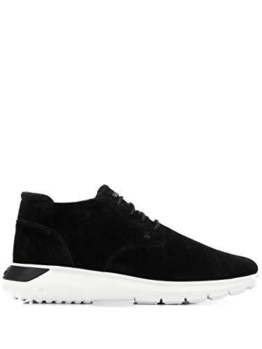 Hogan Luxury Fashion Herren HXM3710AT80LIIB999 Schwarz Wildleder Sneakers | Jahreszeit Outlet