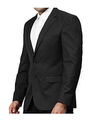 Ayesha Blazer for Men's Black Coat Single Breasted Regular fit Slylish Wedding Party Office Wear in Casual Formal