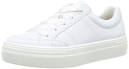 Legero Damen Light Sneaker, Weiß (OFFWHITE (WEISS)), 39