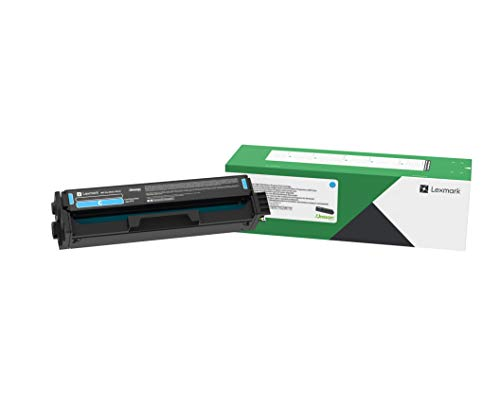 Lexmark C3210C0, C3210K0, C3210M0, C3210Y0 CMYK 4-Color Return Program Tonerkartusche Set für C3224, C3326, MC3224, MC3224, MC3326 smaill cyan