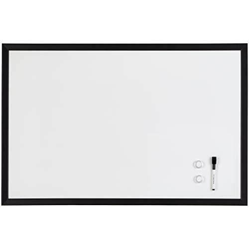 Amazon Basics Magnetic Dry Erase Board, 23' x 35', MDF Frame