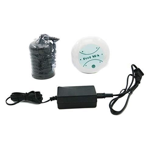 Saweyona 1 Set Mini Detox Machine Cell Machine Ionic Cleanse Ionic Detox Foot Spa Foot Bath Aqua Foot Bath Massage Detox Foot Bath 802FS with Black Array