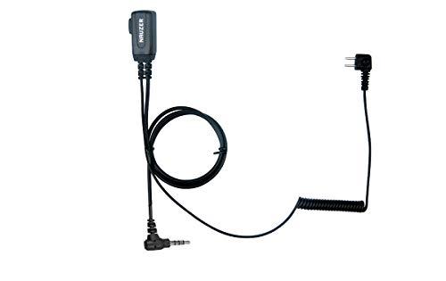 NAUZER PTT-32-Y YAESU Cable con Micro PTT Compatible Casco PELTOR SPORTTAC Caza 🔥